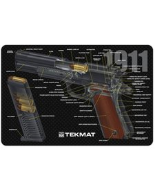 Firearms Cleaning Mat 1911 Diagram (11x17)