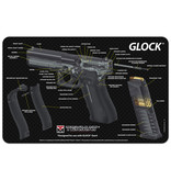 TekMat Firearms Cleaning Mat Glock Diagram (11x17)