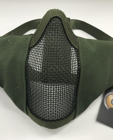 Face Padded Carbon Steel Mask Olive Drab