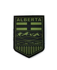 PVC Patch - Alberta - Black/OD