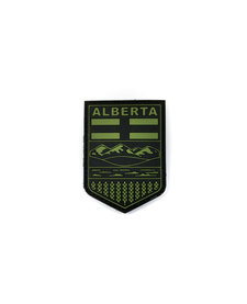PVC Patch - Alberta - Black/OD