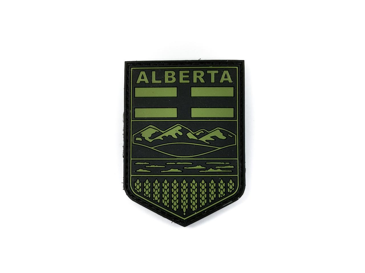 Tactical Innovations Canada PVC Patch - Alberta - Black/OD