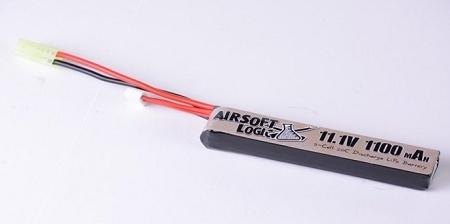Airsoft Logic 11.1V Lipo Battery 1100mAh Stick