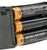 Portable M4 Magazine Power Bank (Color: Black)