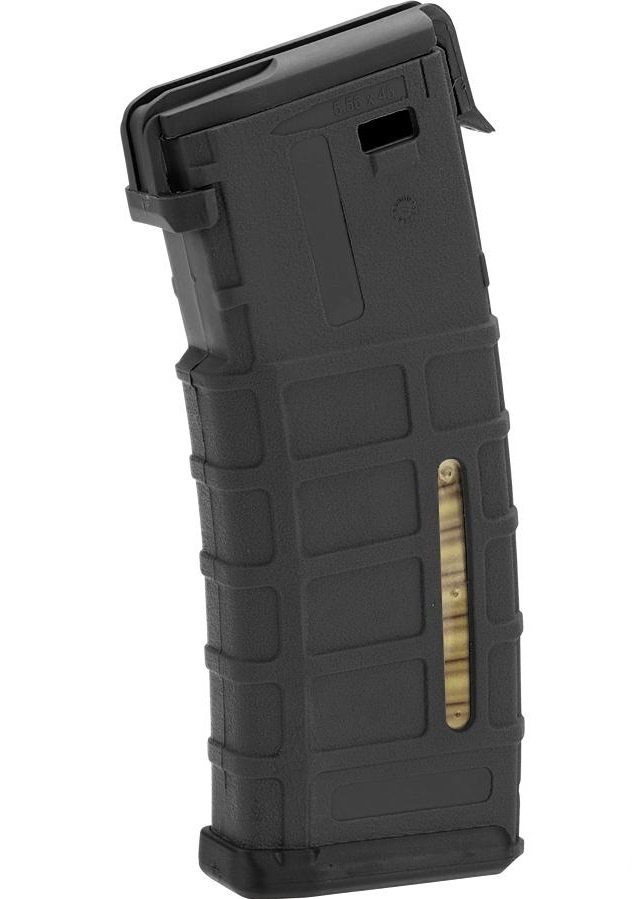Portable M4 Magazine Power Bank (Color: Black)