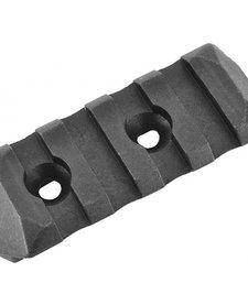 Picatinny Keymod Rail Section (Lenght: 4 Slots / Black)