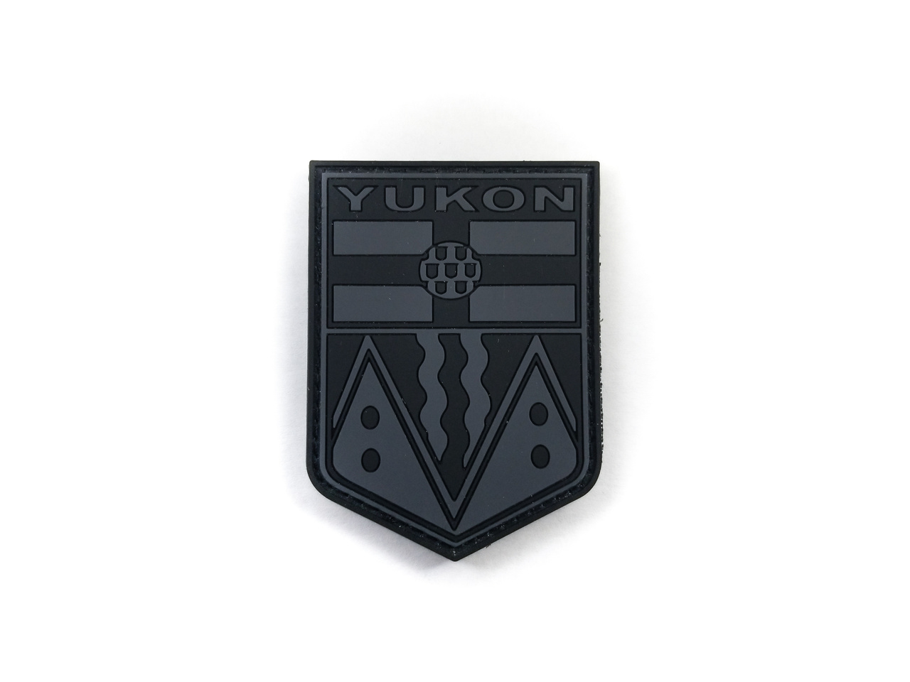 Tactical Innovations Canada PVC Morale Patch YUKON - Grey