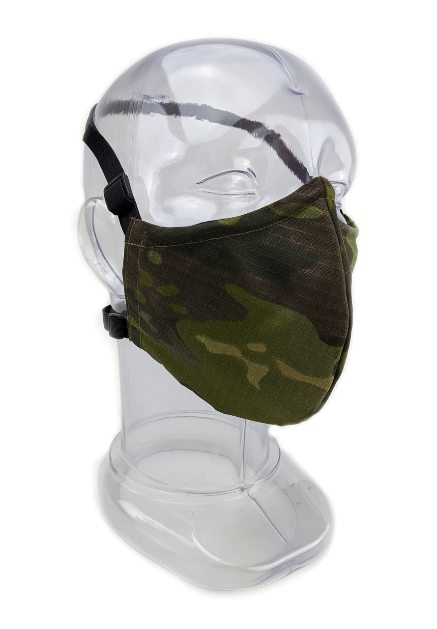 Tactical Innovations Canada Premium 2-ply Fabric Facemask Large