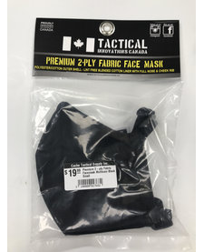 Premium 2-ply Fabric Facemask Small