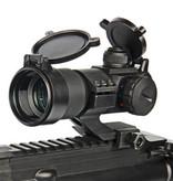 G&G Armament Tactical Red/Green/Blue Dot w/ Cantilever Weaver Mount