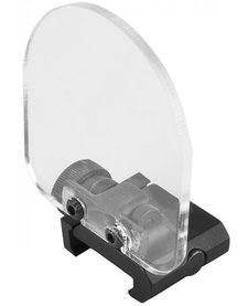 QD Flip Up Scope Lens/Sight Shield Protector-Black w/2 lens