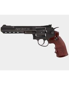 "Super Sport Revolver 6"" Black"