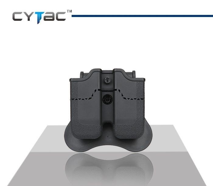 CYTAC Double Pistol Magazine Pouch