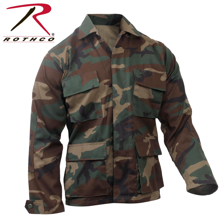 Rothco Rothco Camo BDU Shirt Woodland Camo