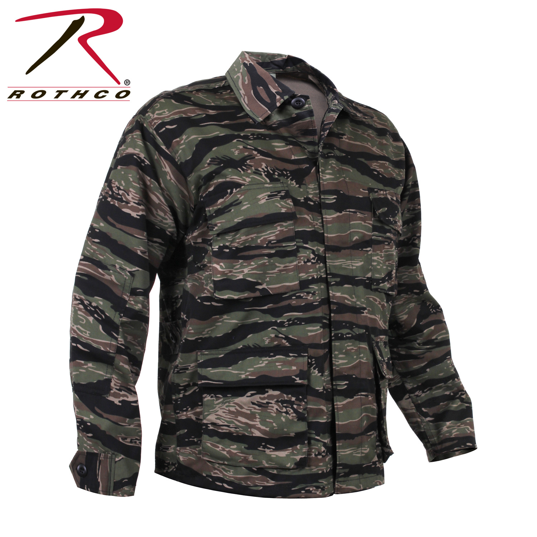 Rothco Rothco Camo BDU Shirt Tiger Stripe