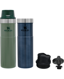 Stanley 20oz Classic Trigger Action Travel Mug Twin Pack