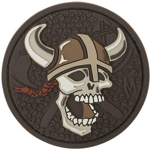 Maxpedition Viking Skull-Arid Morale Patch