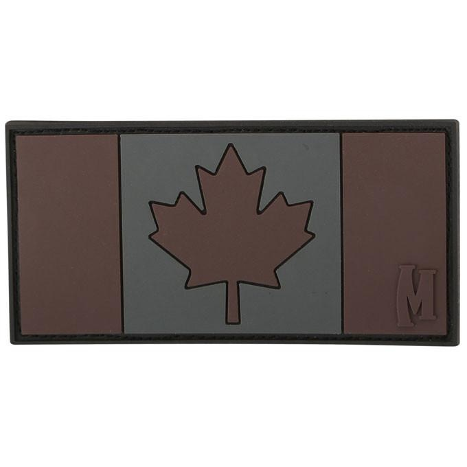 Maxpedition Canada Flag-Stealth Green Morale Patch