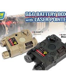 PEQ Battery Box w/Laser-BLK