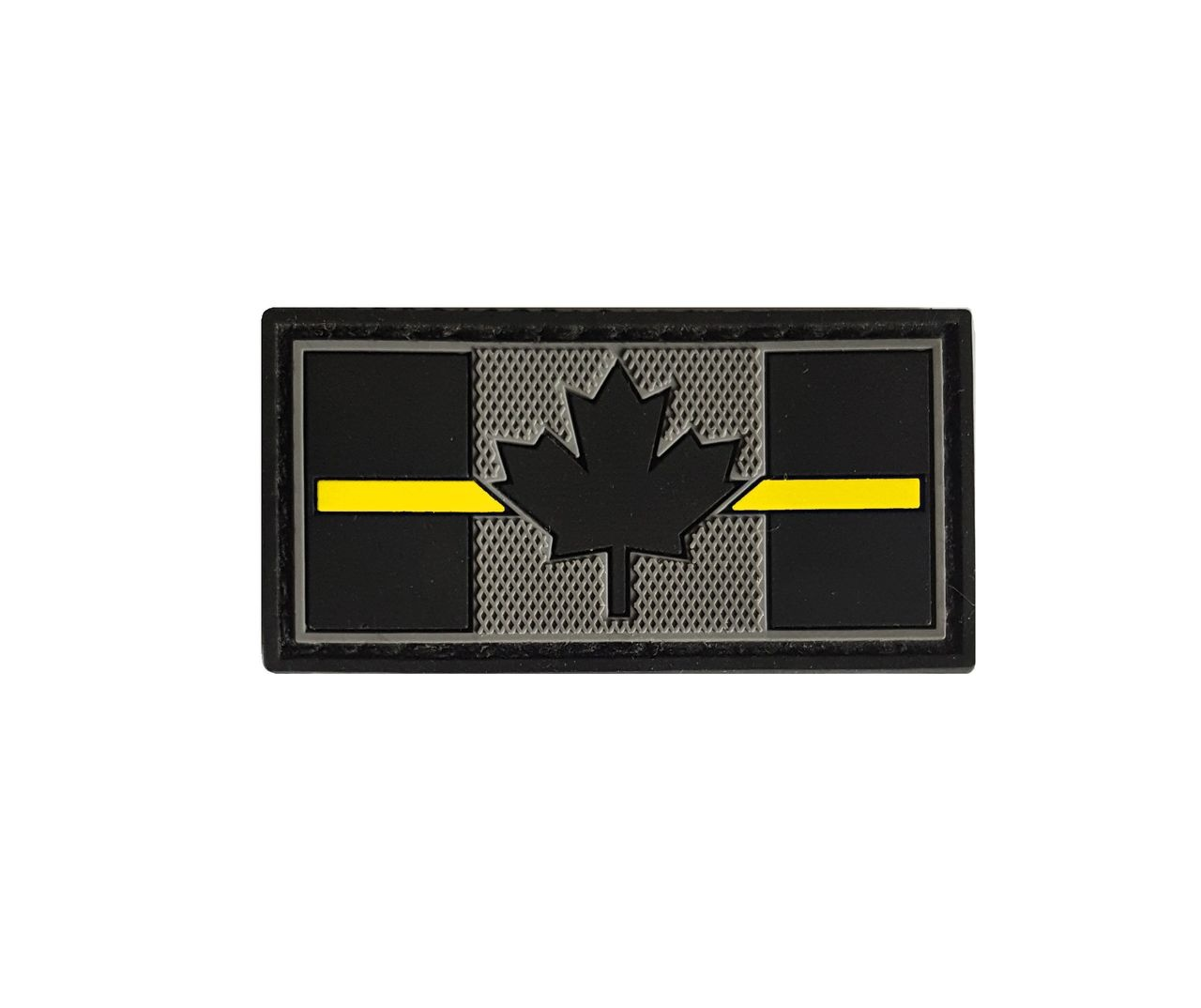 Tactical Innovations Canada PVC Patch - Canadian Thin Yellow Line 1x2