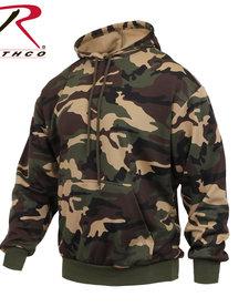 Camo Pullover Hooded Sweatshirt