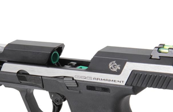 G&G Armament Piranha SL Silver