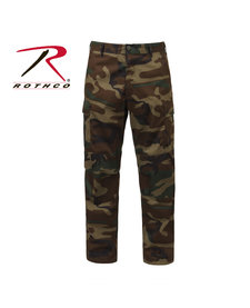 Tactical BDU Pants Woodland Camo