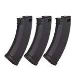 KWA Ronin 47 Magazine 3 Pack: Black