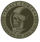 5.11 Tactical Green Space Force Patch-FTG