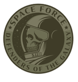 5.11 Tactical 5.11 Green Space Force Patch-FTG