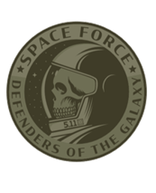 5.11 Green Space Force Patch-FTG