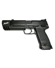 Heckler & Koch USP Match Gas Blowback Airsoft Pistol by KWA