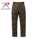 Digital Camo Tactical BDU Pants - 2XL