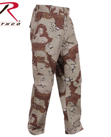Tactical BDU Pants 6-Color Desert Camo