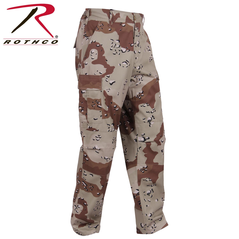 Rothco Tactical BDU Pants 6-Color Desert Camo