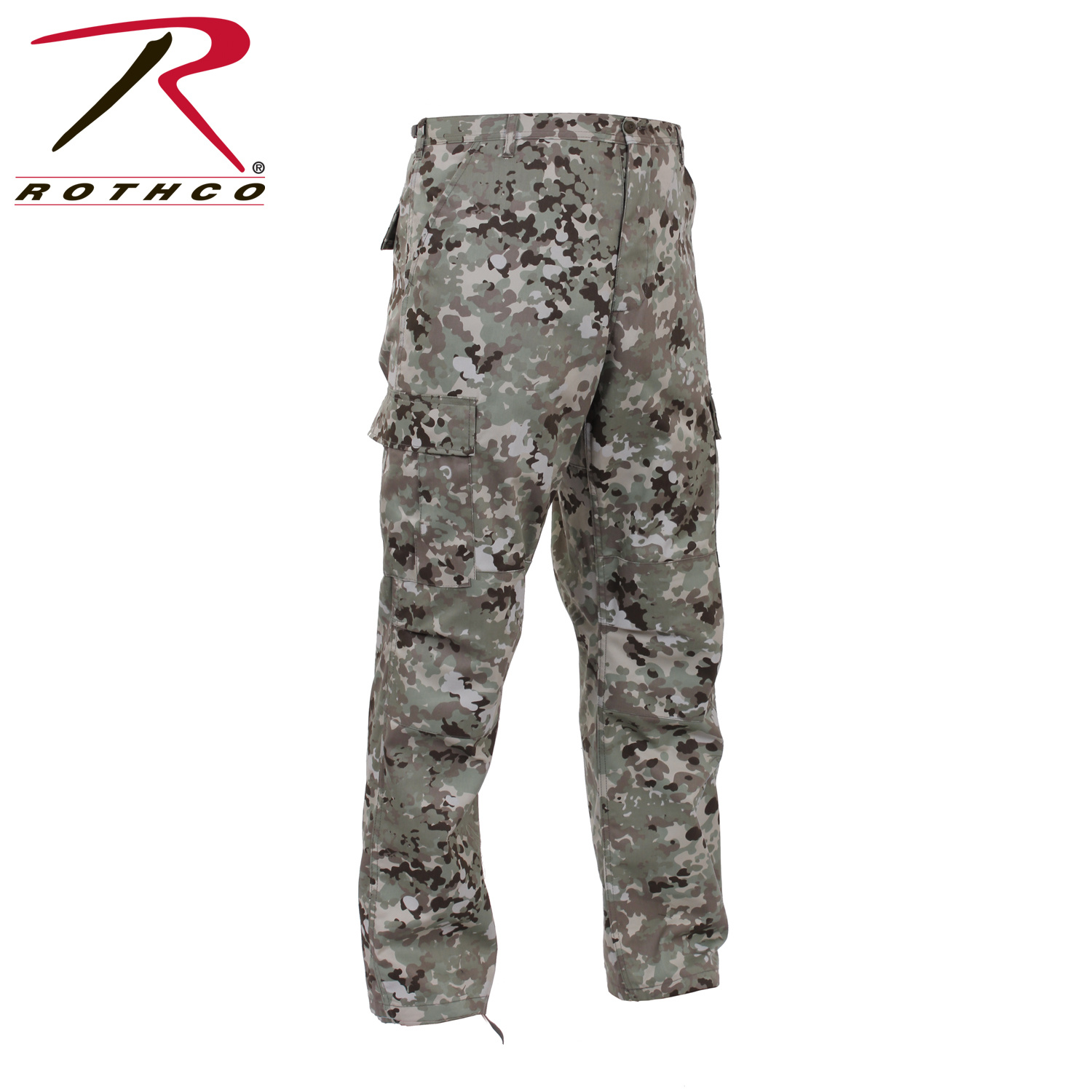 Rothco Tactical BDU Pants Total Terrain Camo