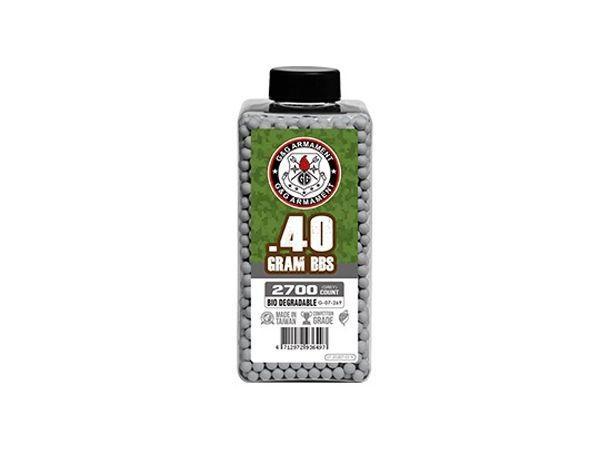 G&G Armament Bio BB 0.40 2700 Count