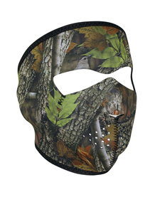 Full Face Neoprene Mask- Forest Camo