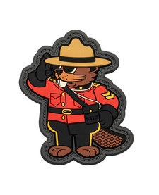 Beaver Mountie Patch