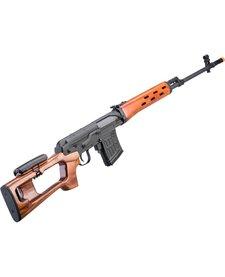 SVD Dragunov Airsoft AEG Sniper Rifle w/ Real Wood Furniture