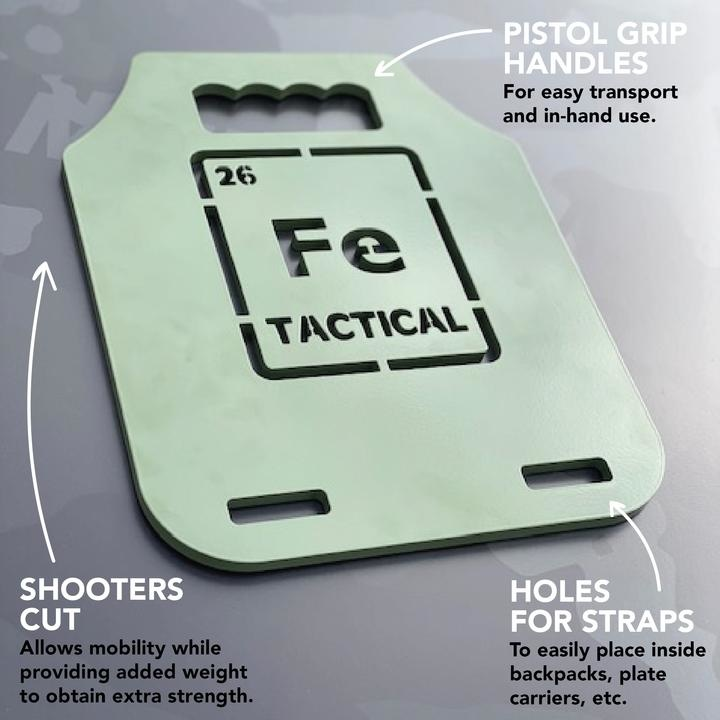 Iron Tactical Fe Tactical Training Plates