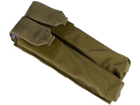Dual Magazine Pouch for Airsoft P90 OD Green