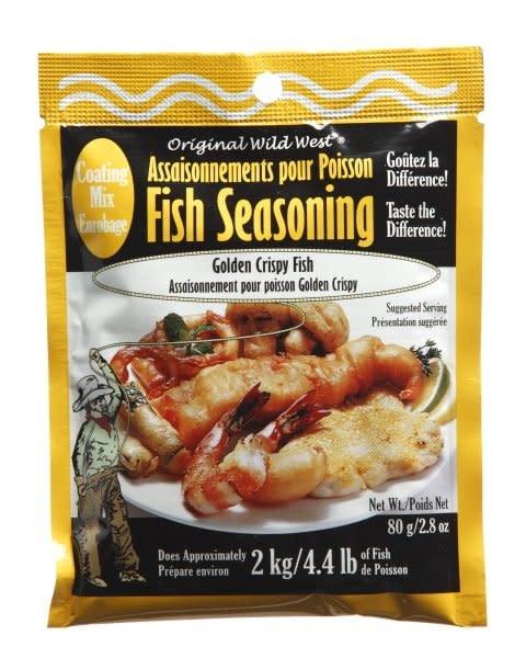Wild West Seasonings Golden Crispy Fish Seasoning 80g