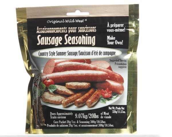 Wild West Seasonings Country Style Summer Sausage Seasoning 208g