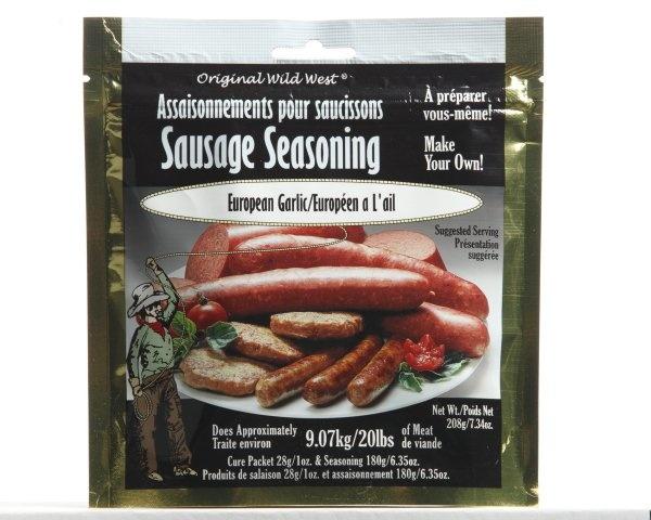 Wild West Seasonings European Garlic Sausage Seasoning 208g