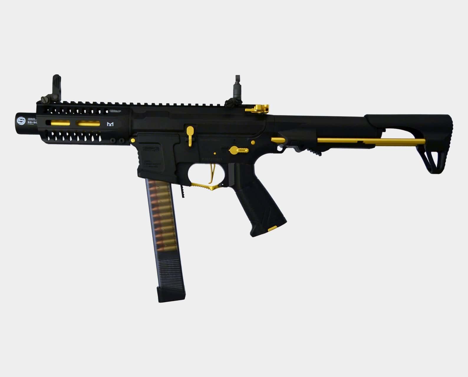 G&G Armament ARP9-Gold Stealth