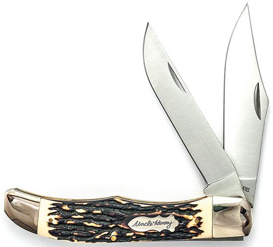 Uncle Henry Folding Bowie Pocket Knife