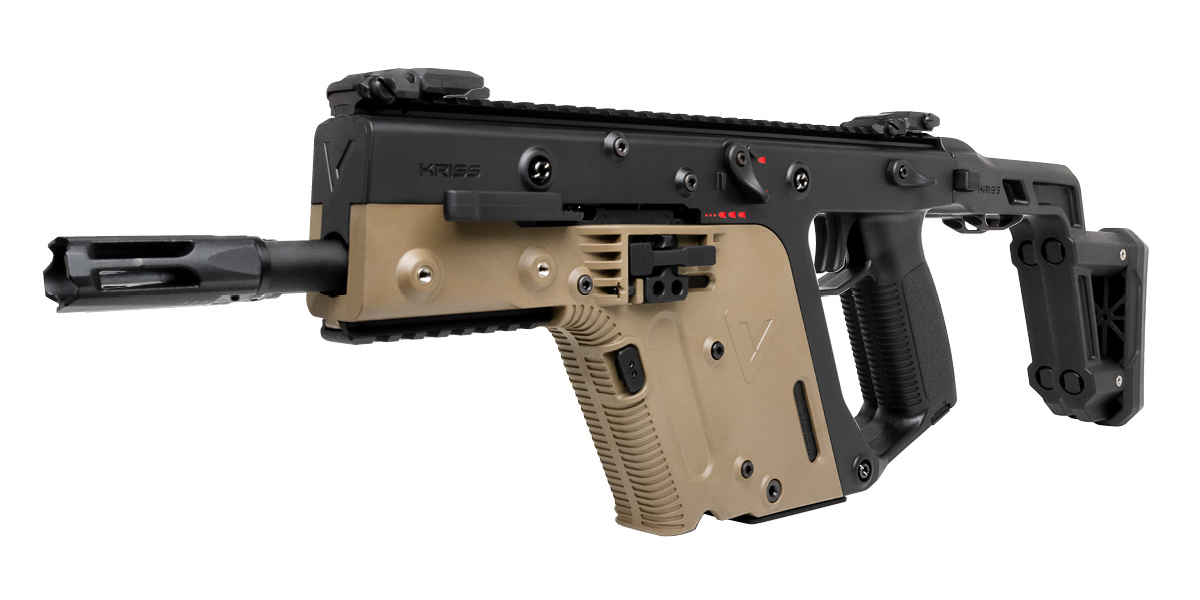 Krytac Kriss Vector Officially Licensed AEG Two Tone  - Canada Version