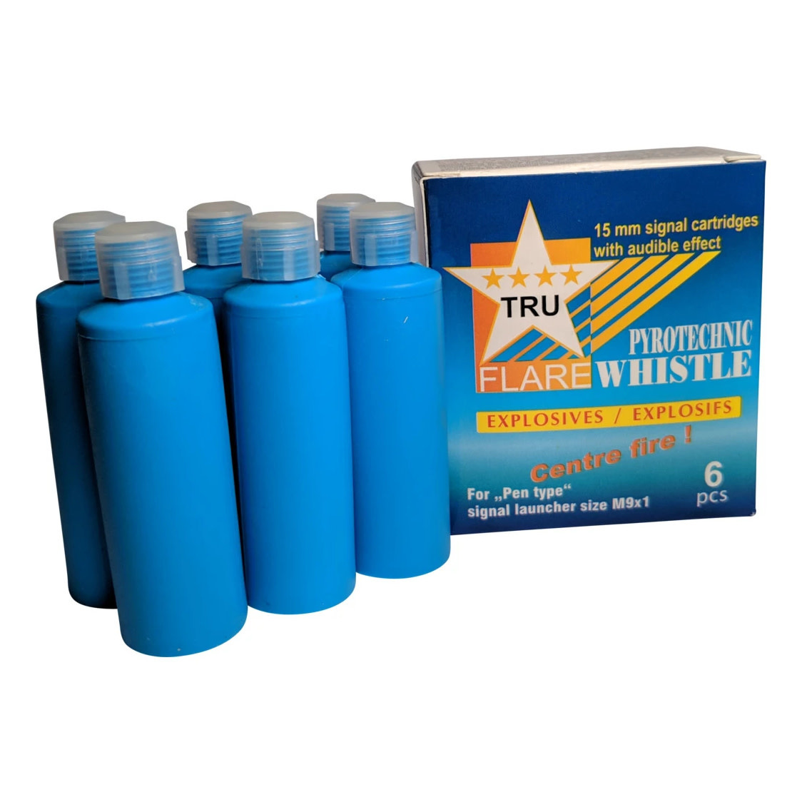Tru Flare Whistles (Screamers) Centerfire 6/box