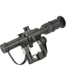 Illuminated 4x24 PSO-1 Type Scope for Dragonov SVD Sniper Rifle